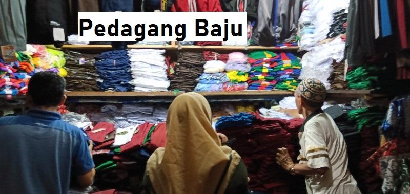 Pedagang Baju